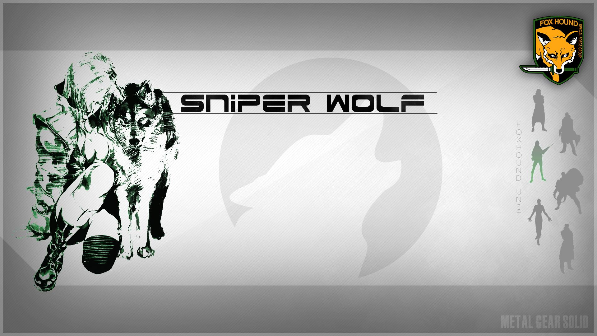 Metal Gear Solid Iphone Wallpaper Sniper Wolf Hd Wallpaper Background Image 1920x1080