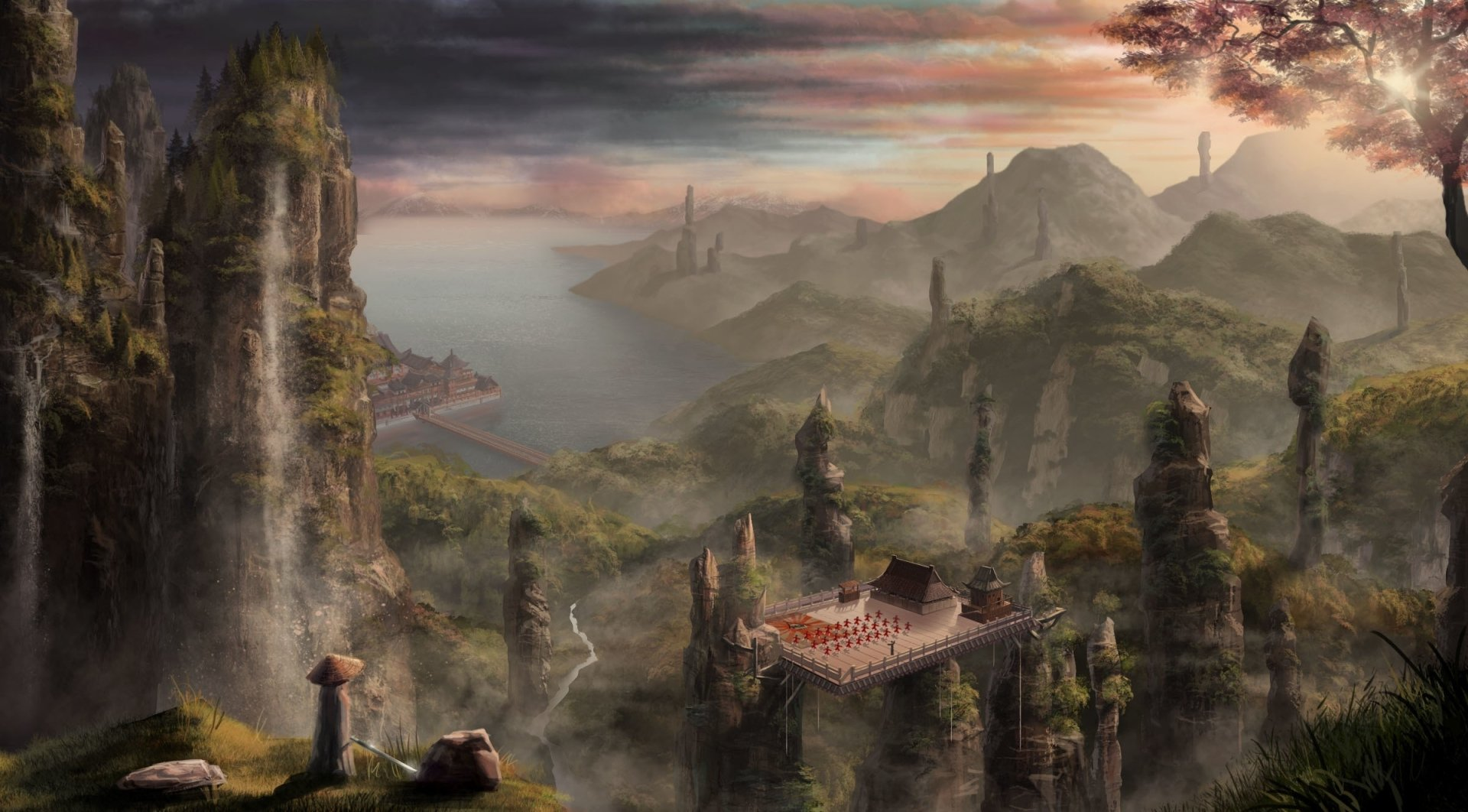 3d Wallpaper Widescreen High Resolution Game Landscape Full Hd Wallpaper And Background Image