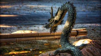 Chained Dragon 4k Ultra HD Wallpaper and Background Image | 3840x2160 | ID:562904