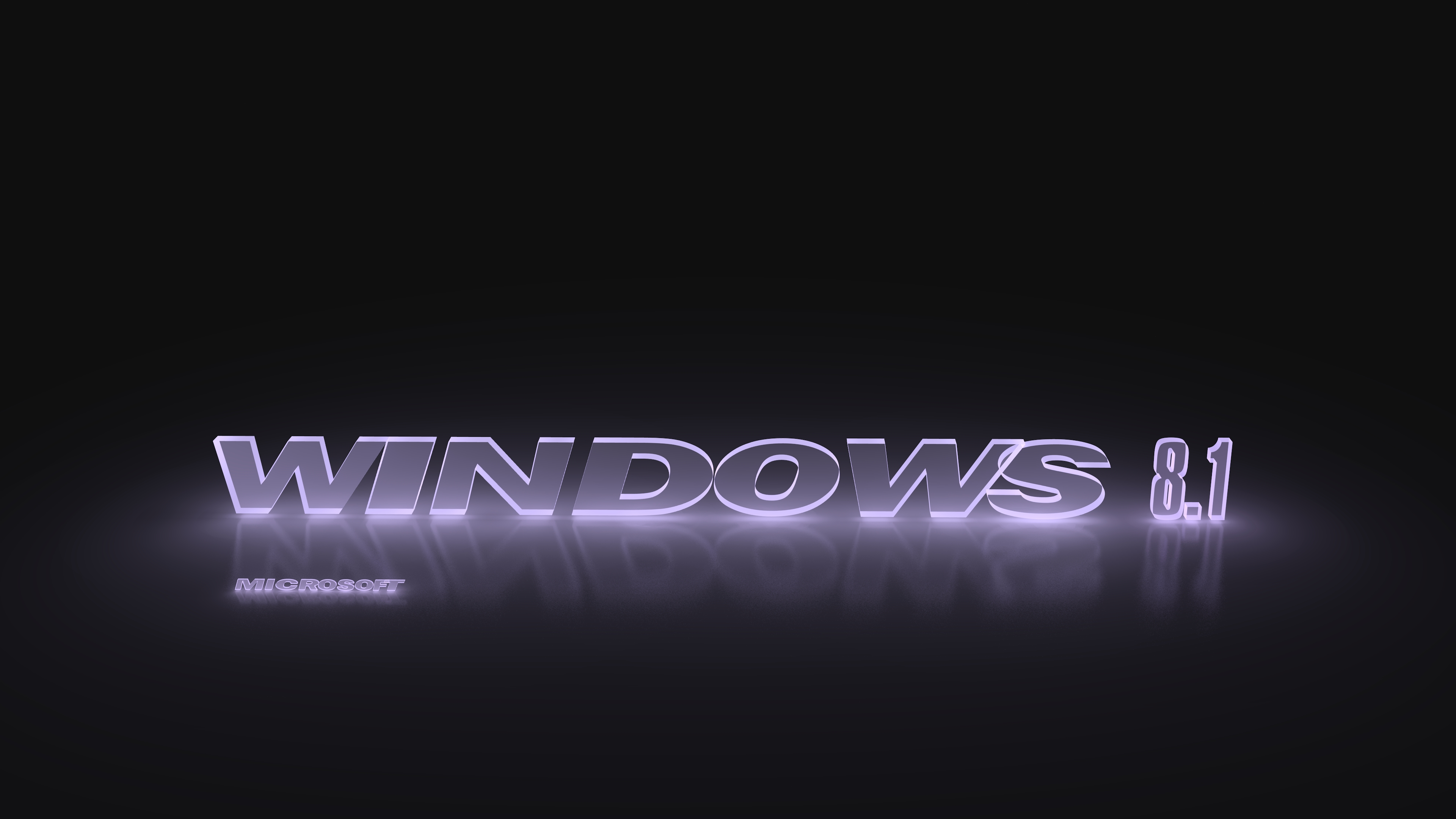 Win8 3d Wallpaper Windows 8 1 Glowing Light Violet Computer Wallpapers