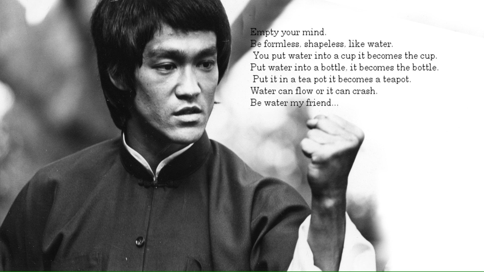2pac Quote Iphone Wallpaper Bruce Lee Hd Wallpaper Background Image 1920x1080 Id
