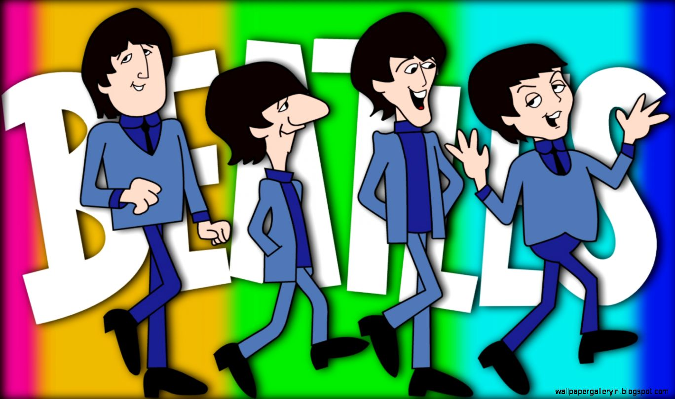 The Beatles Iphone 5 Wallpaper The Beatles Cartoon Tv Show Wallpaper And Background Image