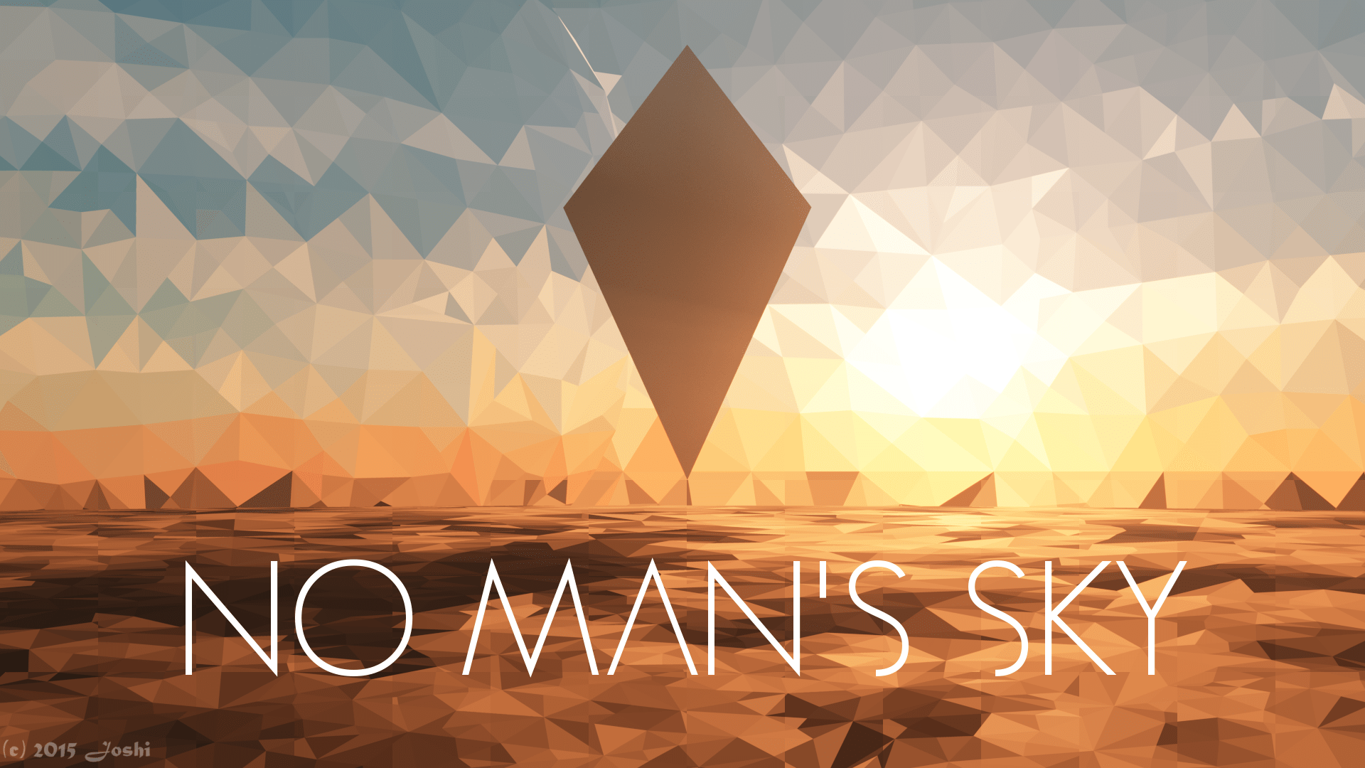 Low Poly Iphone X Wallpaper No Man S Sky Full Hd Wallpaper And Background 1920x1080