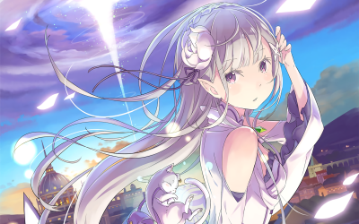 Re:ZERO -Starting Life in Another World- HD Wallpaper | Background Image | 1920x1200 | ID:691314 ...