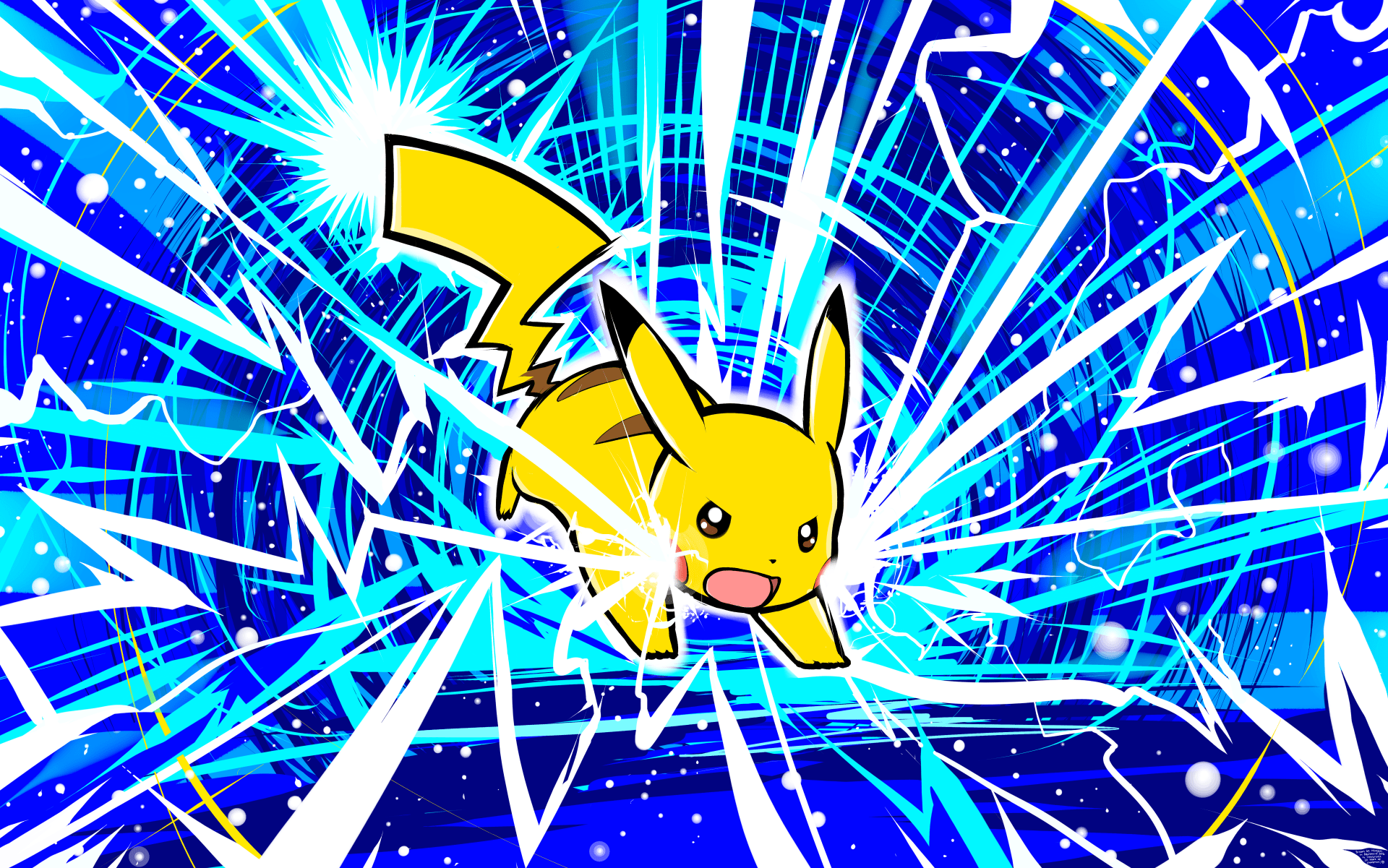 Cute Pikachu Iphone 5 Wallpaper Pikachu Thunderbolt 5k Retina Ultra Hd Fondo De Pantalla
