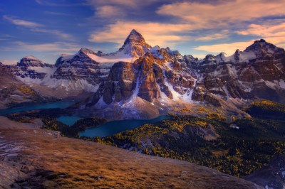 Mount Assiniboine in British Columbia, Canada HD Wallpaper | Background Image | 3000x2000 | ID ...