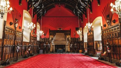 Inside Edinburgh Castle Scotland 5k Retina Ultra HD Wallpaper | Background Image | 5583x3140 ...