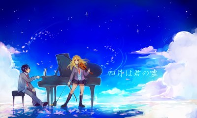 Your Lie in April HD Wallpaper | Background Image | 1920x1152 | ID:832376 - Wallpaper Abyss