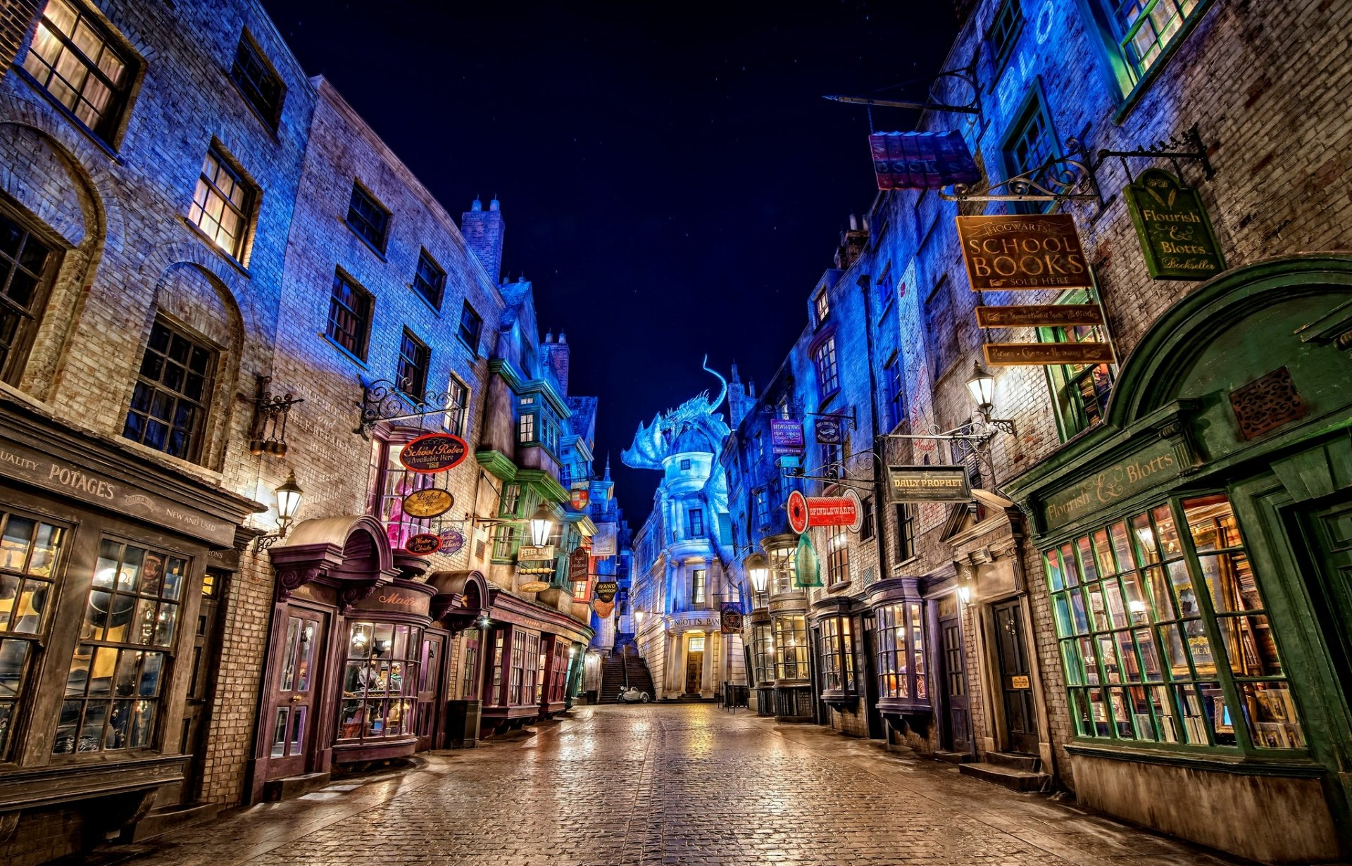 Galaxy Wallpaper Hd Iphone 6 Plus Diagon Alley From Harry Potter At Universal Studios Hd