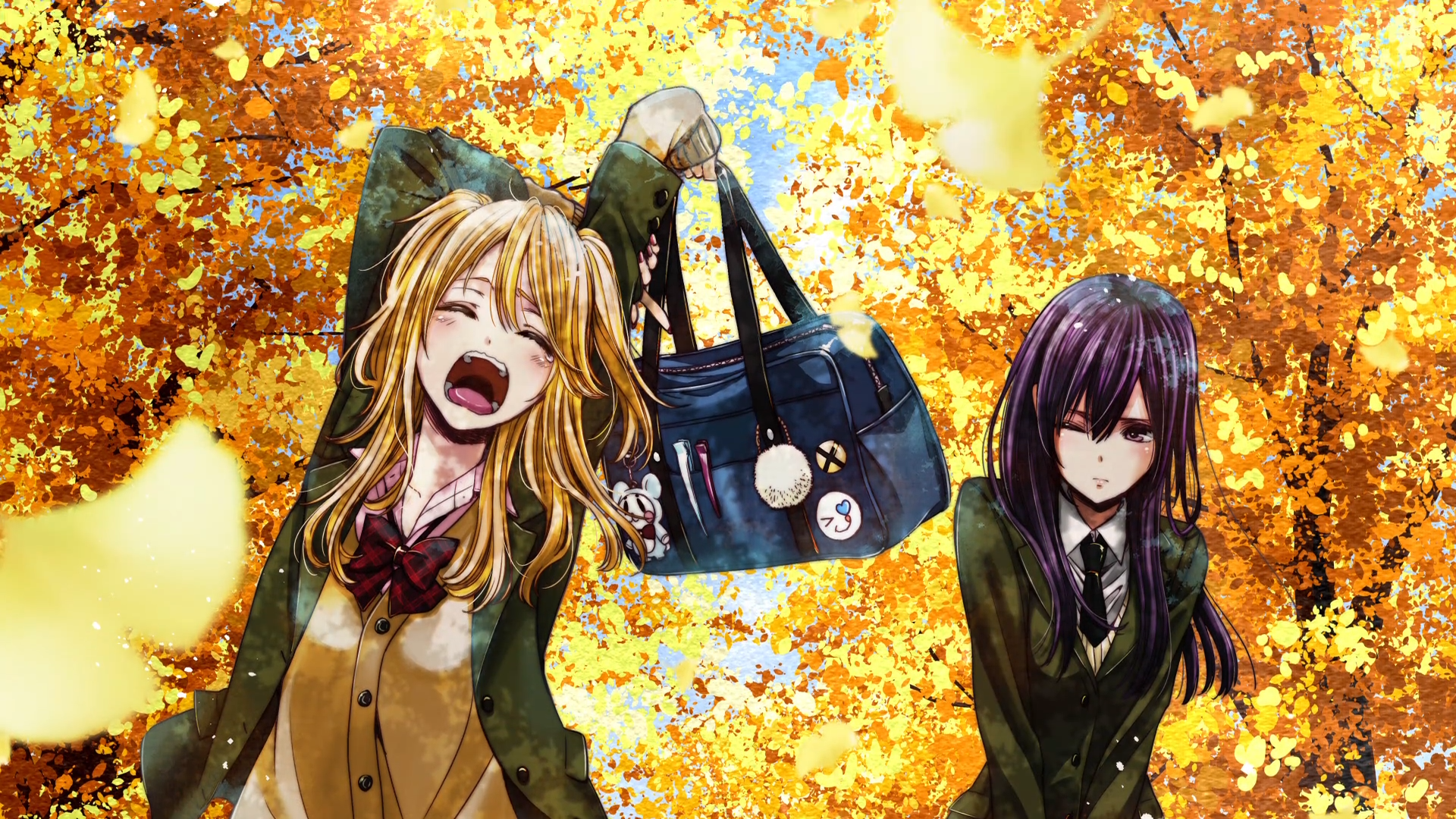 Fall Anime Wallpaper Vocaloid 54 Citrus Hd Wallpapers Background Images Wallpaper Abyss