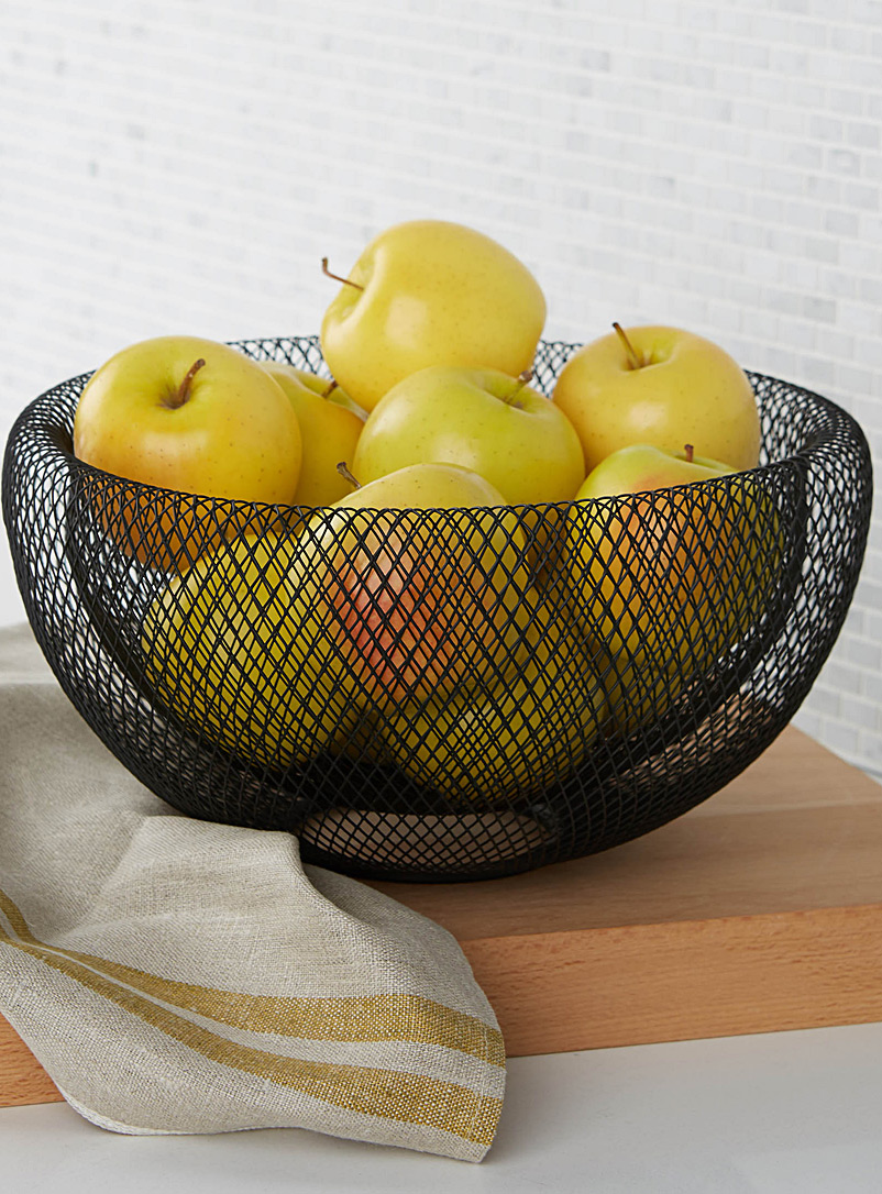 Wire Fruit Bowls Large Modern Wire Mesh Fruit Bowl
