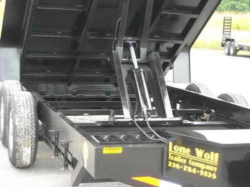 Low Profile Dump Trailers