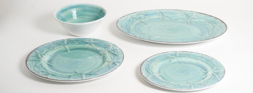 Nautical Decor Gifts Nautical Melamine Dinnerware
