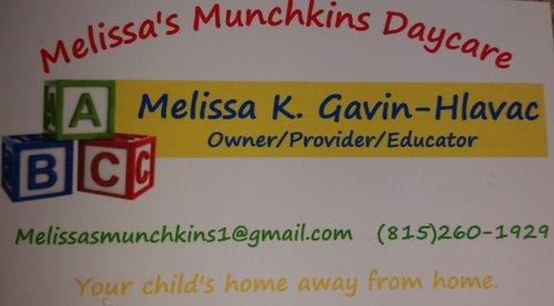 Melissa\u0027s Munchkins Home Daycare Openings - BabyCenter