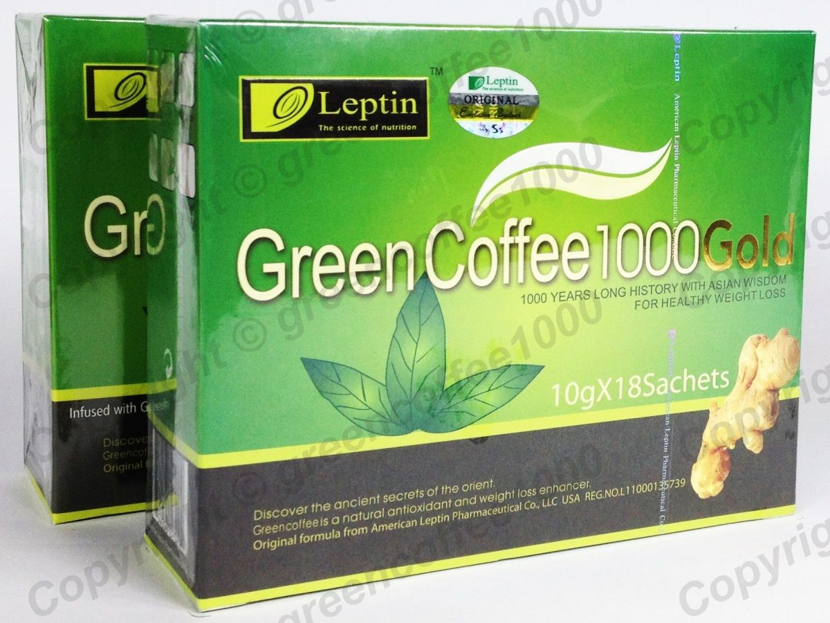Grüner Coffee Green Coffee Grüner Kaffee Green Coffee 1000 Diät 3 Pack Original Ebay