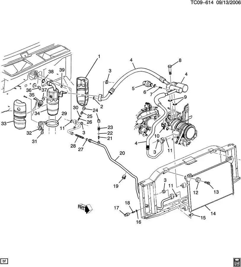 2008 duramax engine parts diagram