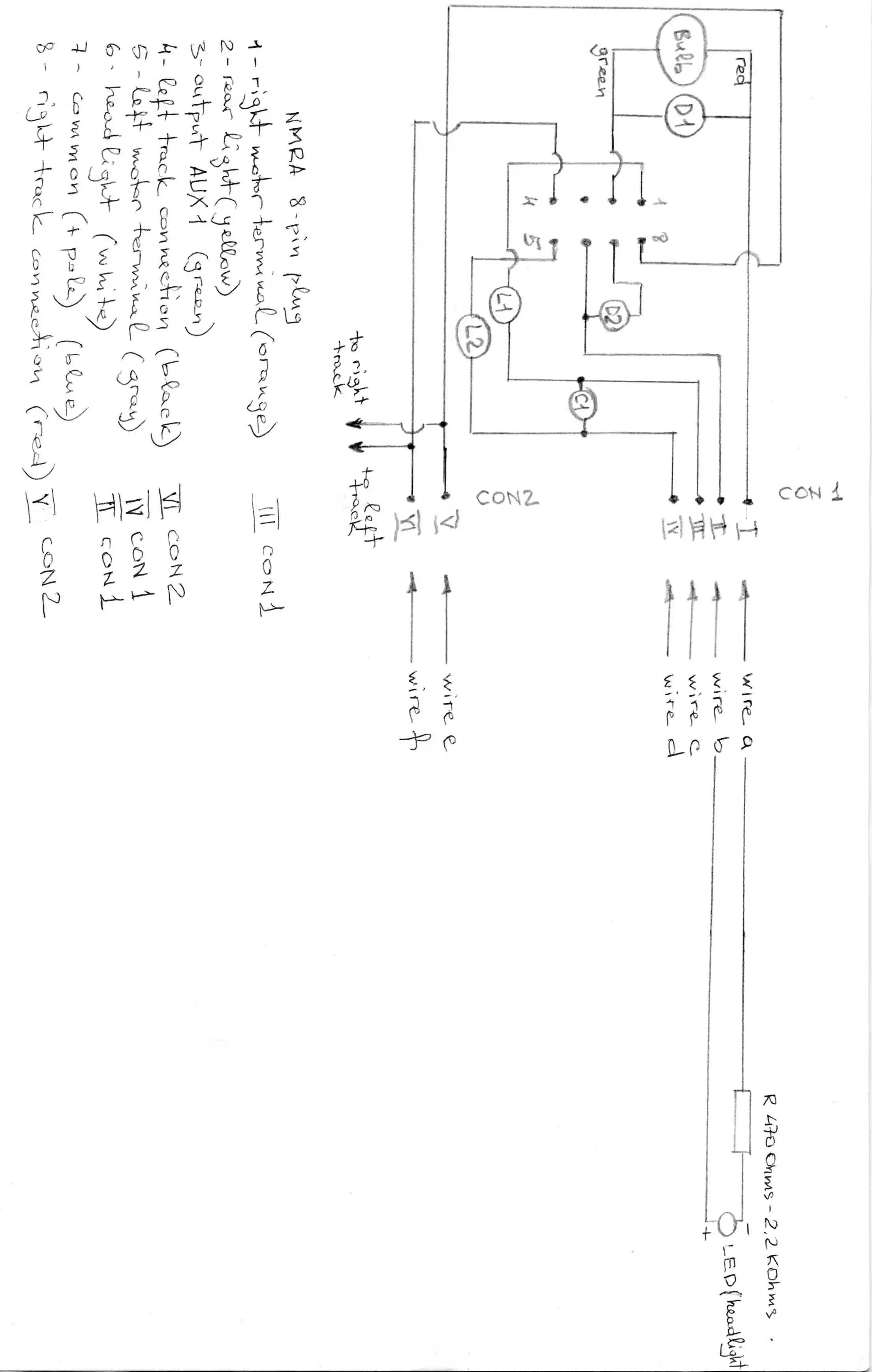 bachmann decoder wiring diagram 8 pin