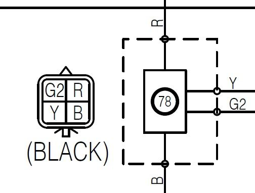 inserting images into a plug wire diagram of a of