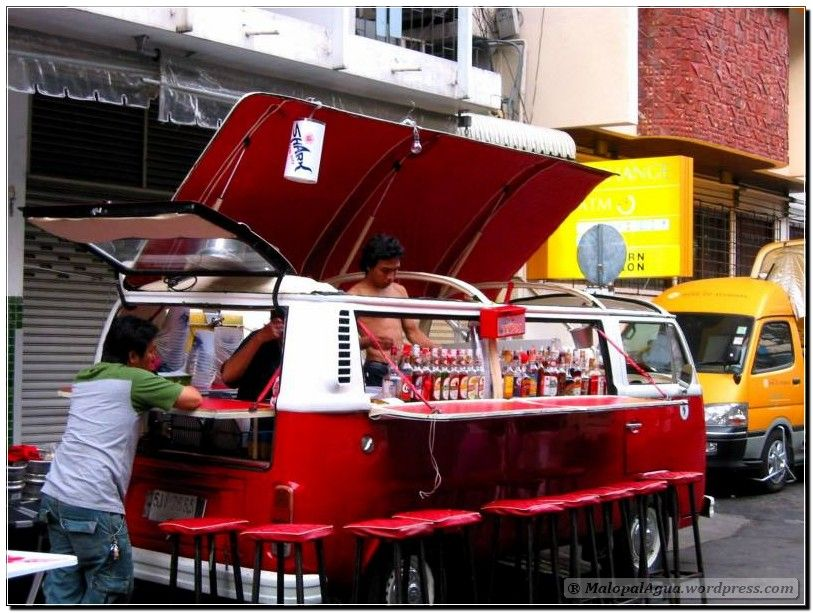 Cocktail Bus - Cool eat street business Pinterest Vw, Food - vehicle inspection form