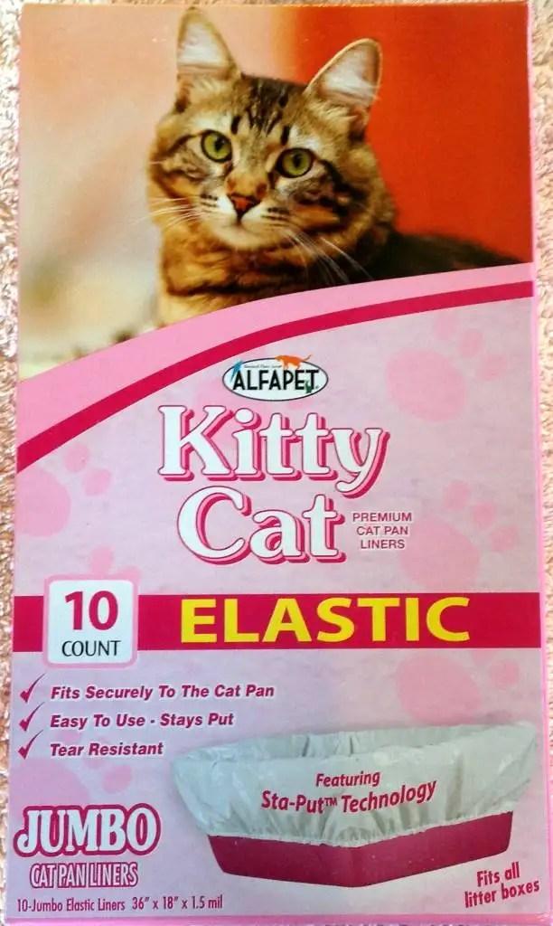 New Alfa Pet Kitty Cat Jumbo Elastic Litter Box Liners 10
