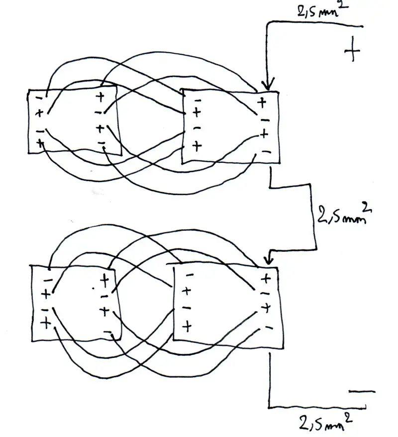 4s lipo schema cablage