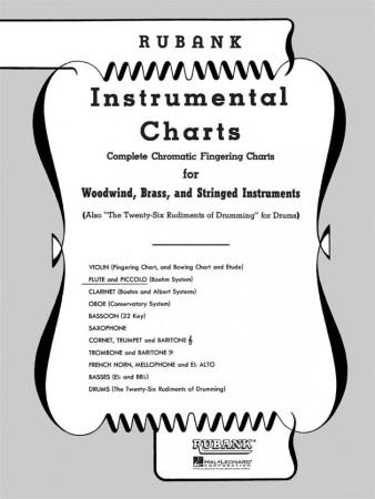 Flute Fingering Charts  Flute  Sheet Music