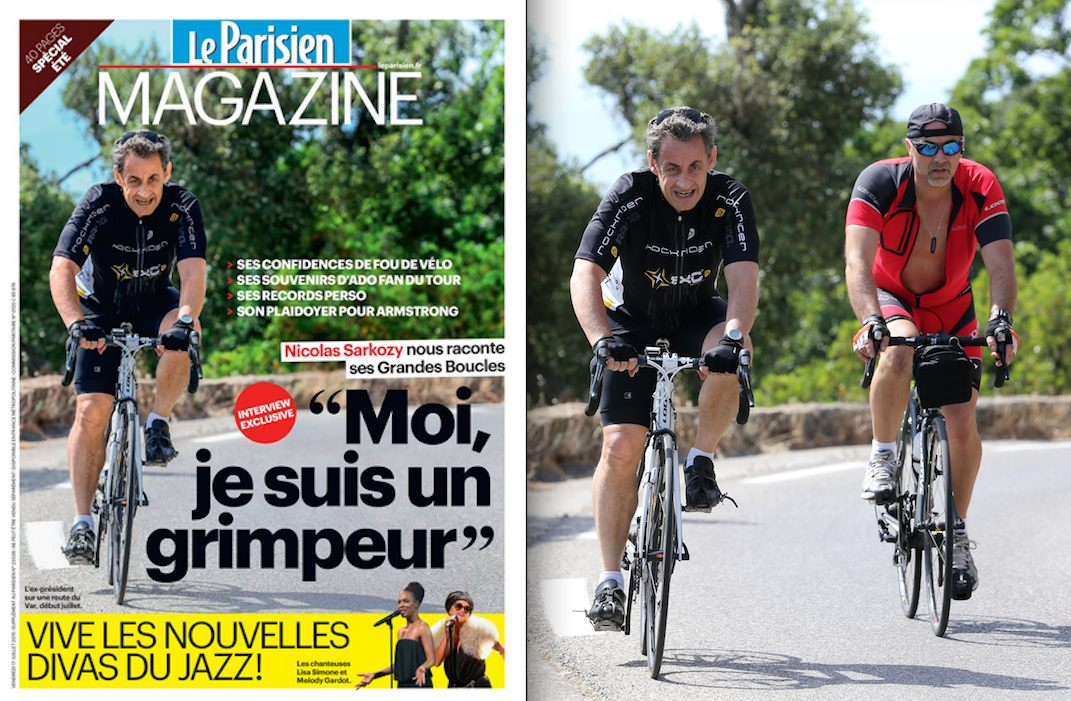 Sarkozy, champion de la retouche