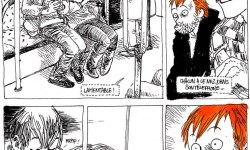 Boulet, Le petit théâtre de la ligne 3 (extrait).
