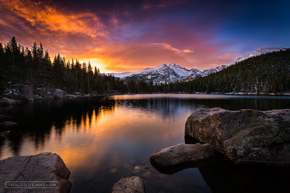 Colorado Fall Desktop Wallpaper Drama At Bear Lake H Bear Lake Rocky Mountain