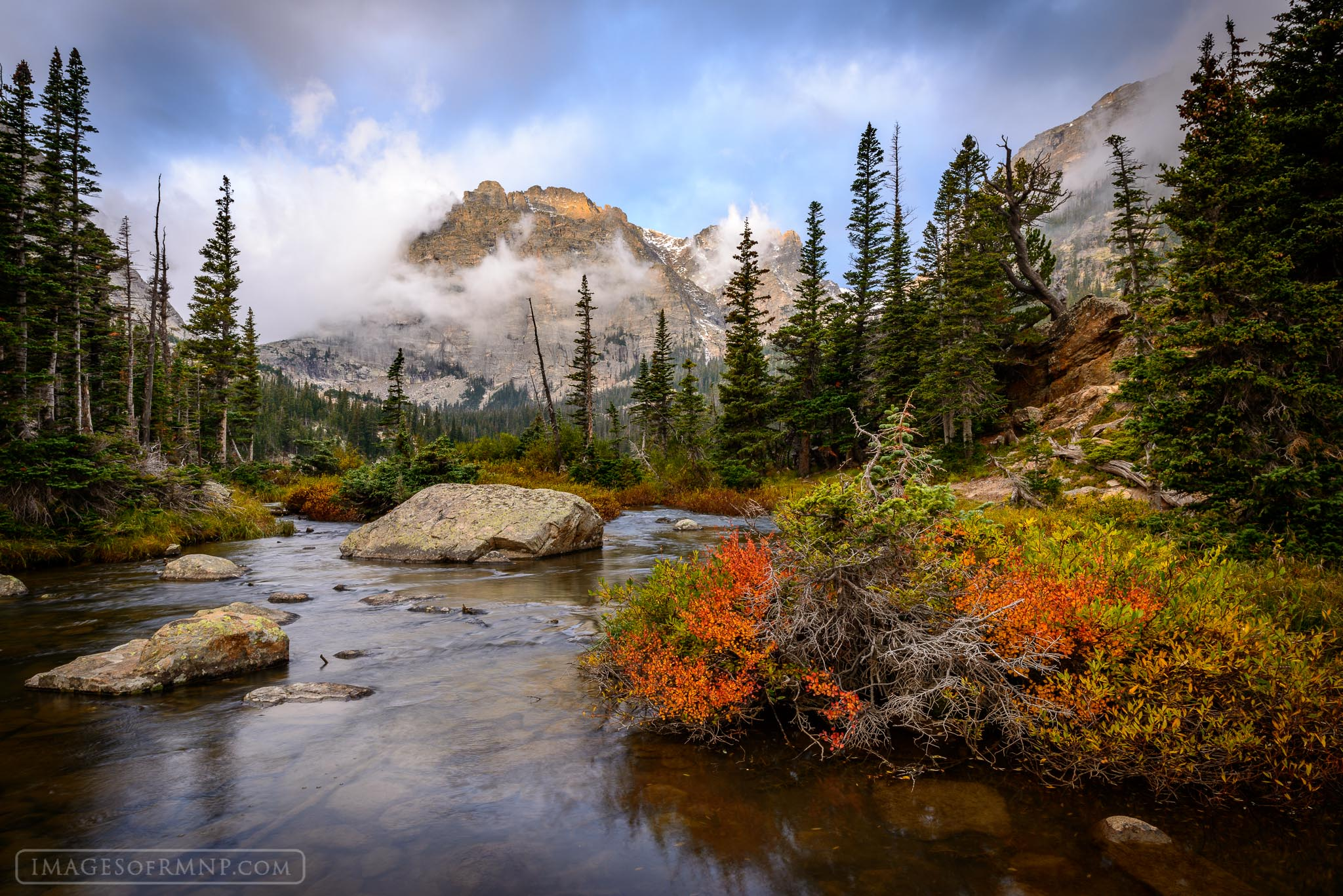 Autumn Fall Live Wallpaper Handel S Loch The Loch Rocky Mountain National Park