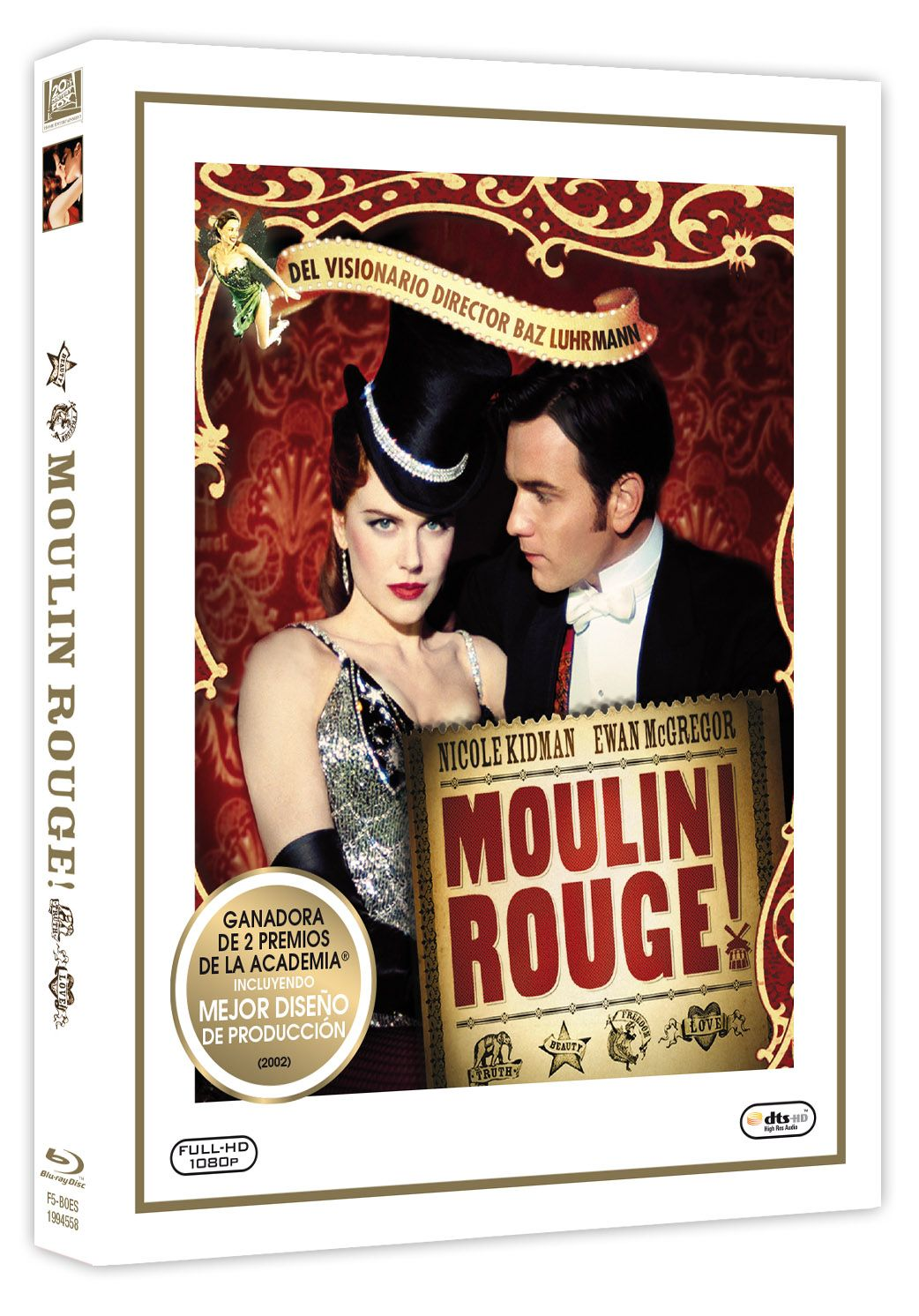 Moulin Rouge Libro Moulin Rouge ColecciÓn Oscars Blu Ray