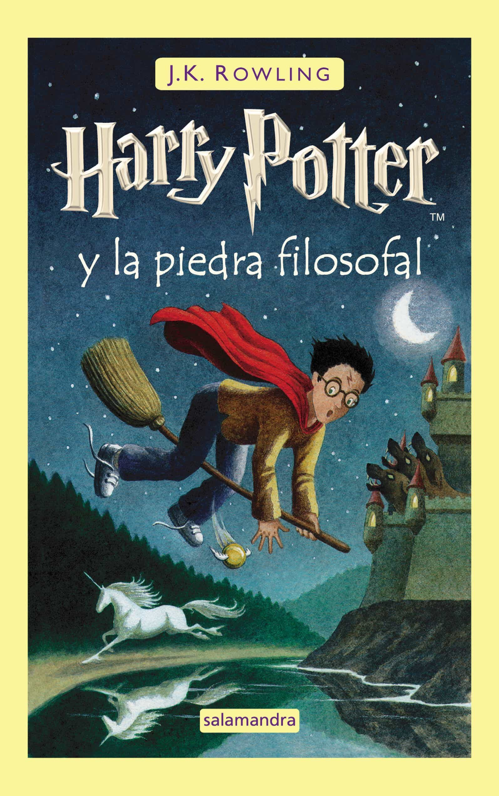 Ultimo Libro Harry Potter Harry Potter Y La Piedra Filosofal J K Rowling