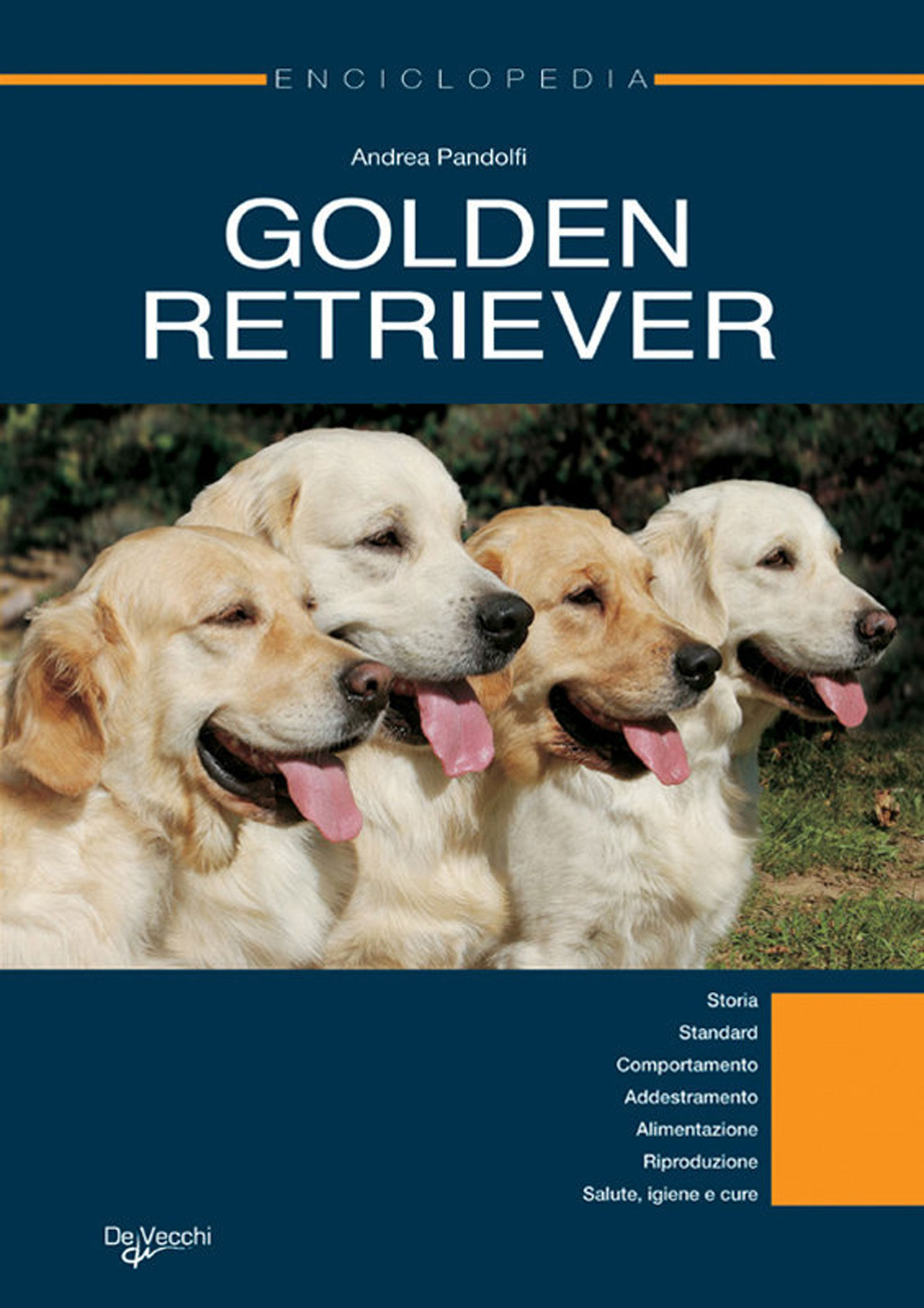 Libro Golden Retriever Golden Retriever Enciclopedia Ebook Andrea Pandolfi