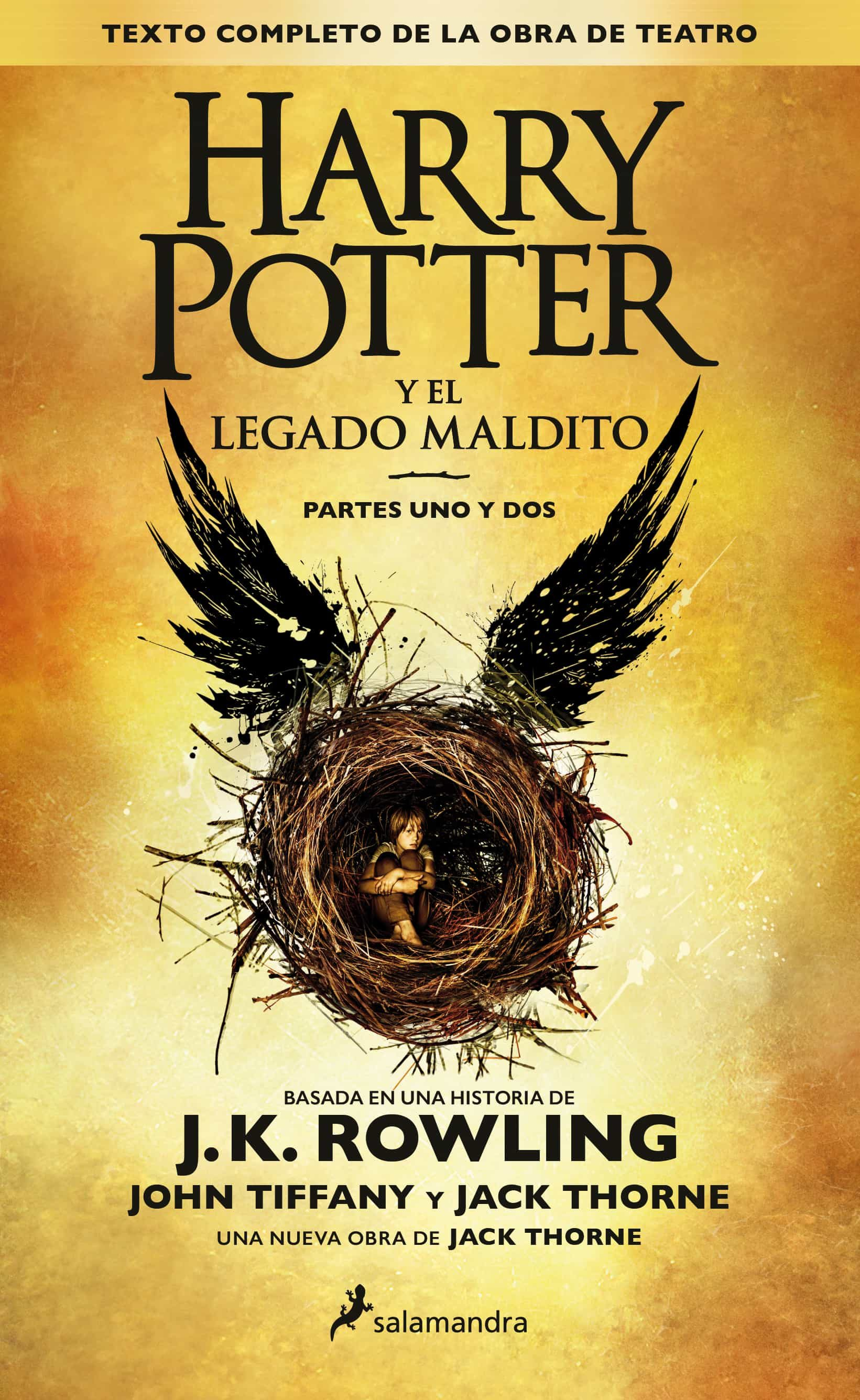 Ultimo Libro Harry Potter Harry Potter Y El Legado Maldito J K Rowling Comprar
