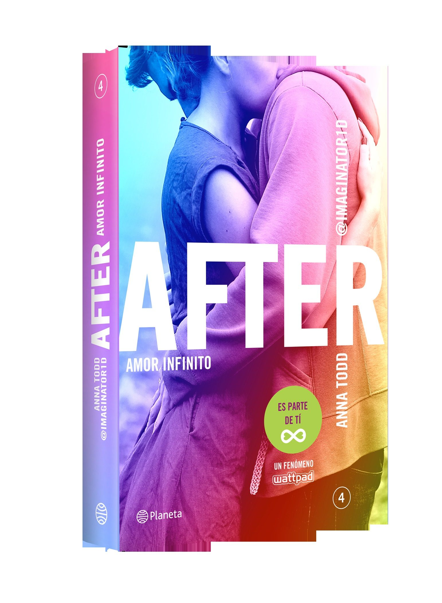 Libros De After Pack After 4 Funda Impermeable Movil Anna Todd Comprar Libro 9788408143635