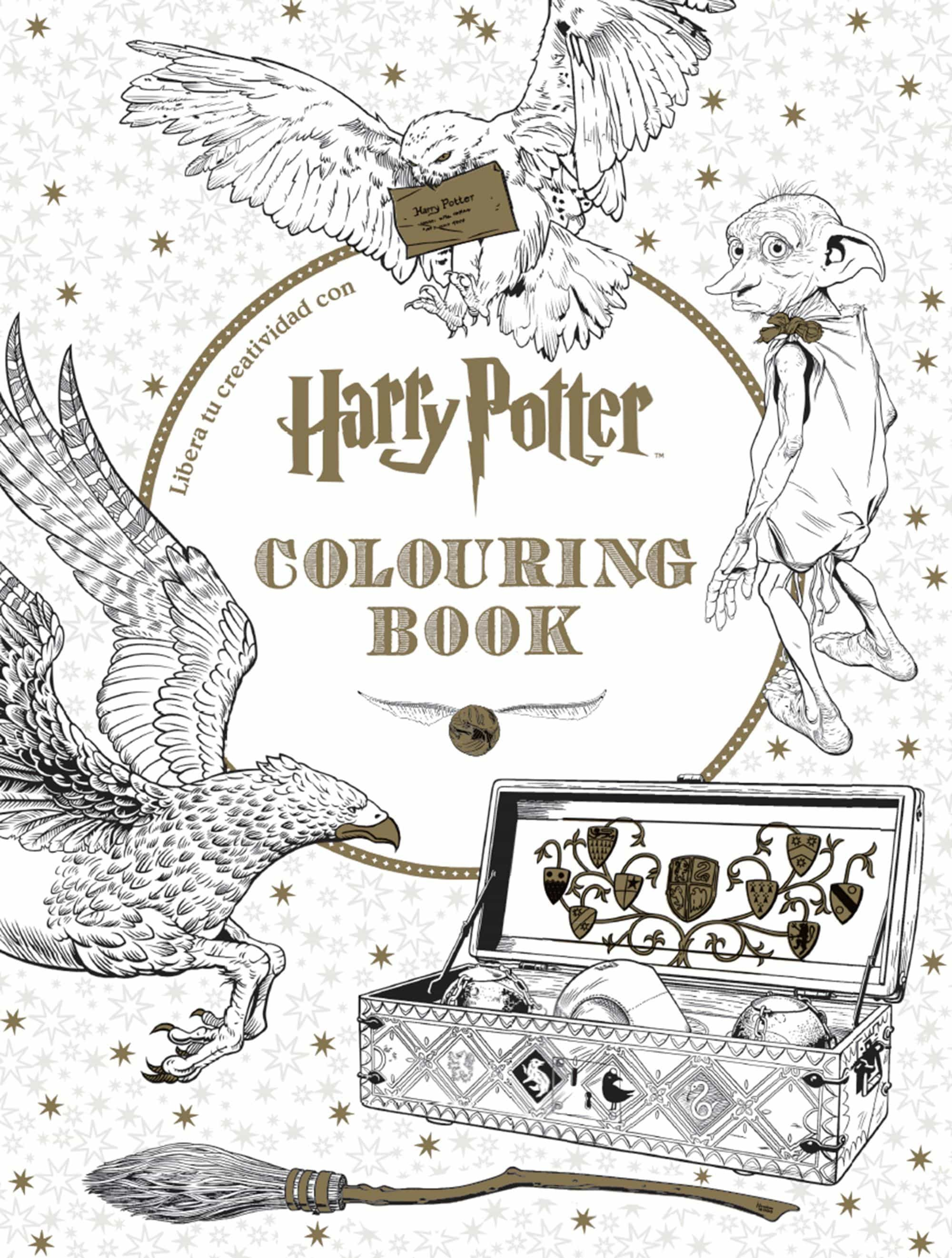 Comprar Libros De Harry Potter Harry Potter Colouring Book Vv Aa Comprar Libro