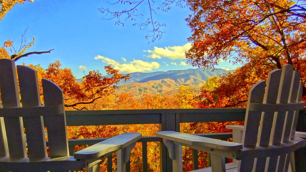 Fall Smoky Mountains Wallpaper Amazing Mountain View From Every Room Homeaway Gatlinburg