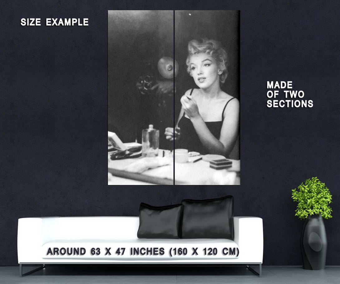 Marilyn Monroe Makeup Details About 62745 Marilyn Monroe Makeup Retro Actress Decor Wall Print Poster