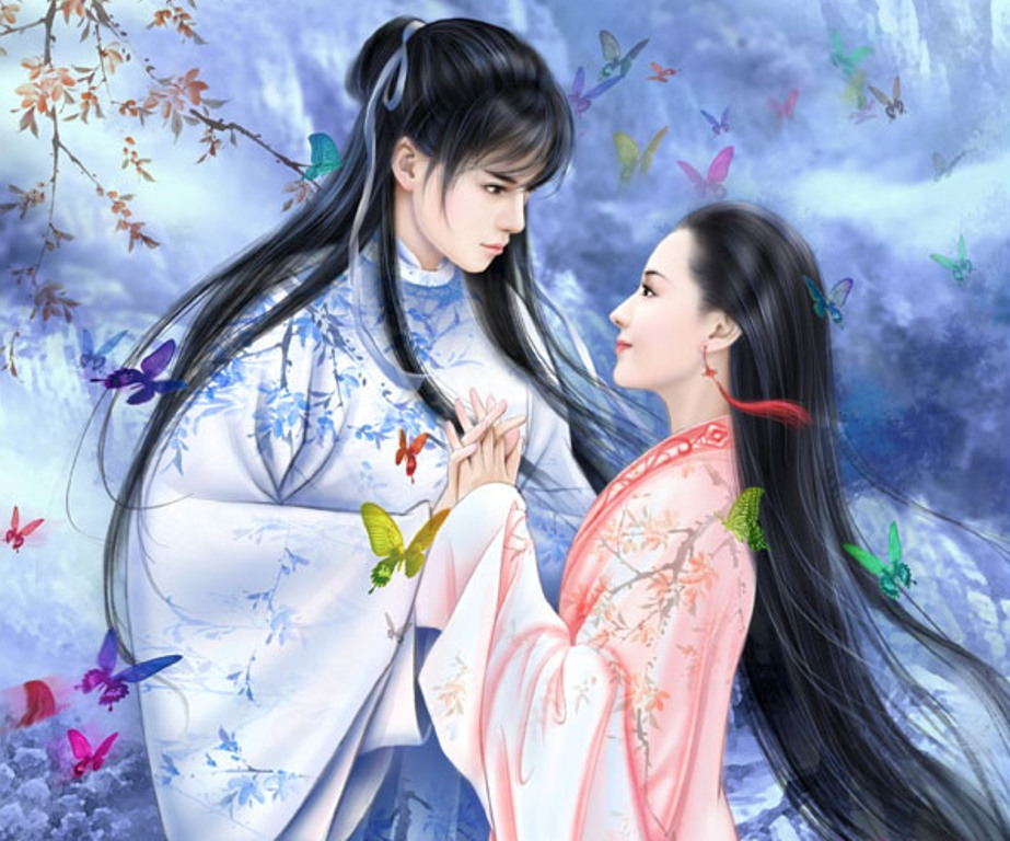Chinese Cute Girl Hd Wallpaper Chinese Girl Paintings 03 Imagez Only