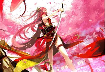 Sexy Samurai Anime Girls Wallpapers | Imagez Only