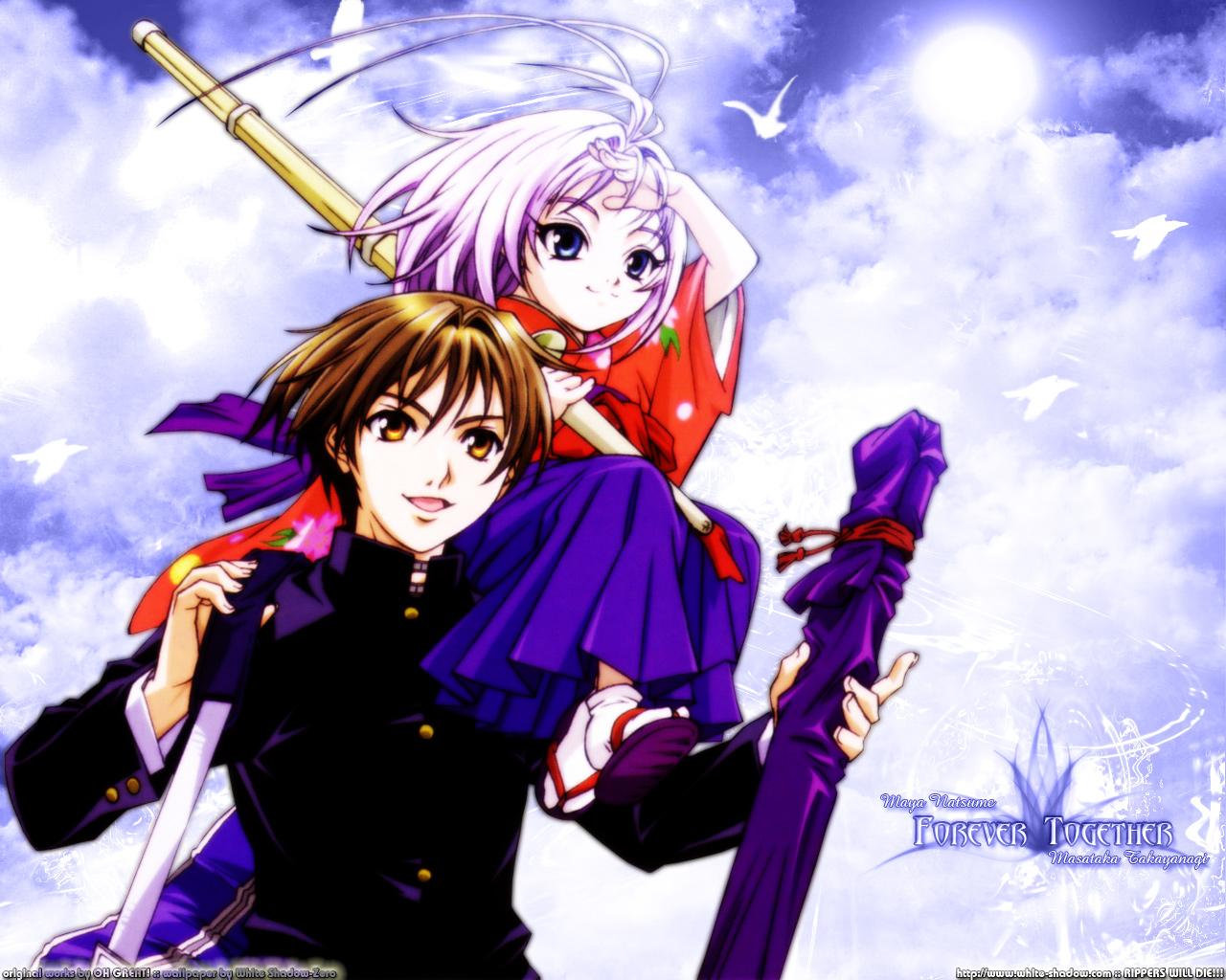 Anime Girl Wallpaper Hd Icon Tenjho Tenge Fighter Anime Wallpaper 02 Imagez Only