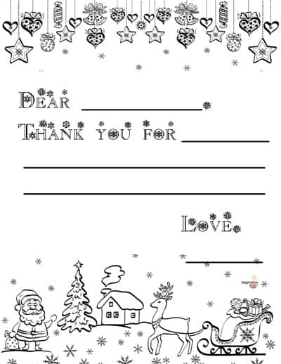 3 Free Printable Christmas Thank You Notes for Kids Imagination Soup - printable thank you note