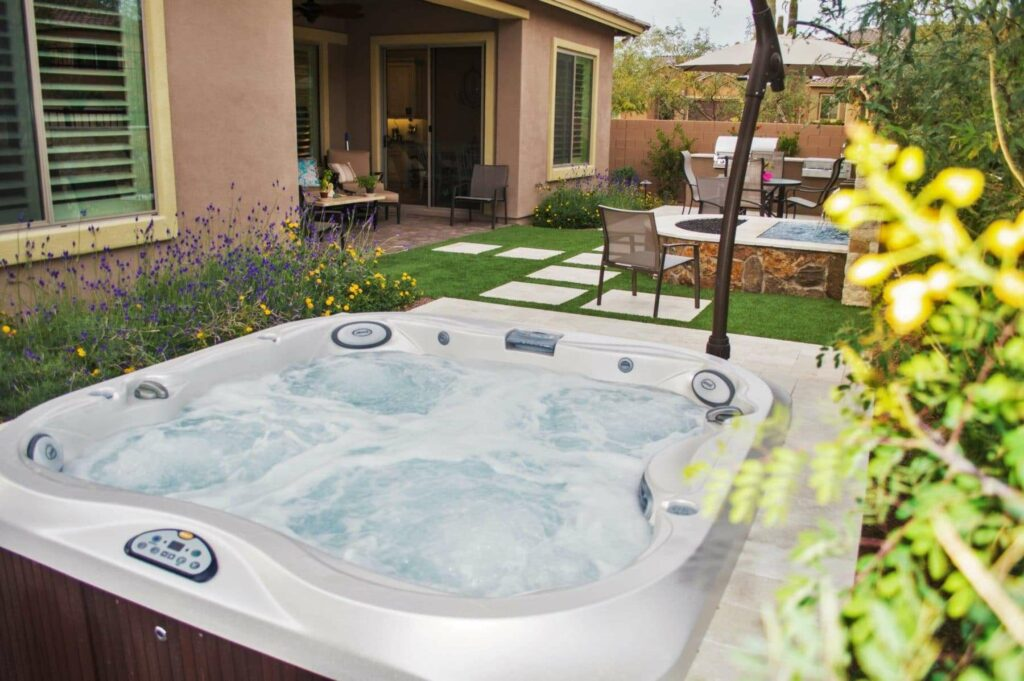 Jacuzzi Whirlpool Unterschied Gallery Of Projects - Hot Tubs, Swim Spas & Arizona Backyards