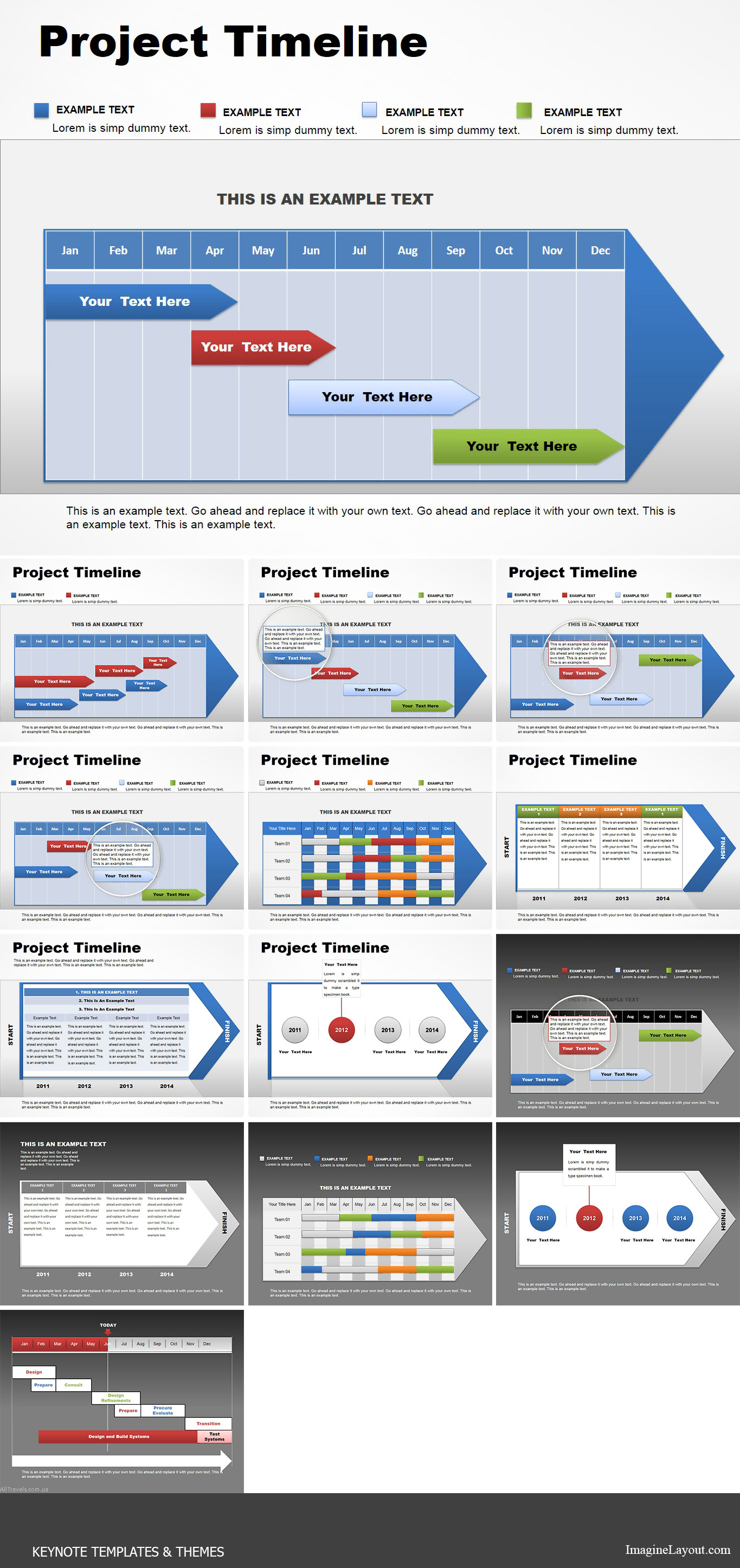 project timeline word