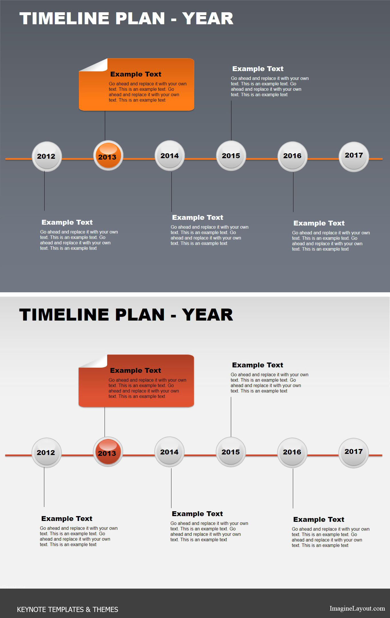 day timeline template