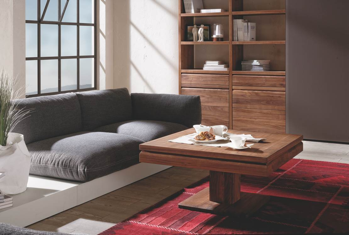 Table Noyer Design Loft Coffee Table