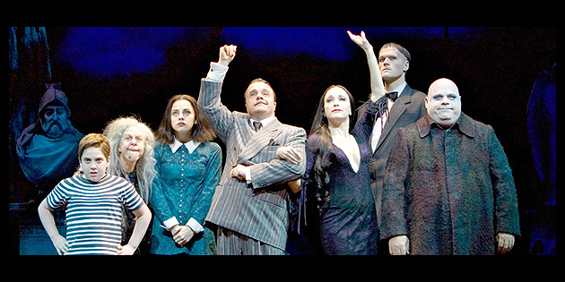 Fester Addams Decca Broadway To Record New Musical The Addams Family