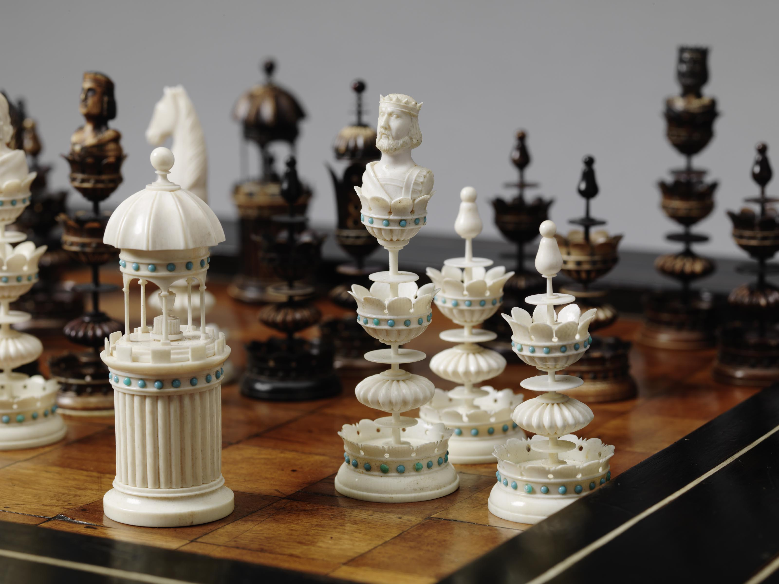 Collectors Chess Sets World Chess Hall Of Fame Imaging4art New York New York