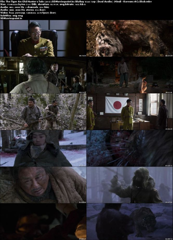Poster The Tiger An Old Hunter's Tale 2015 Full HD Movie Download Dual Audio
