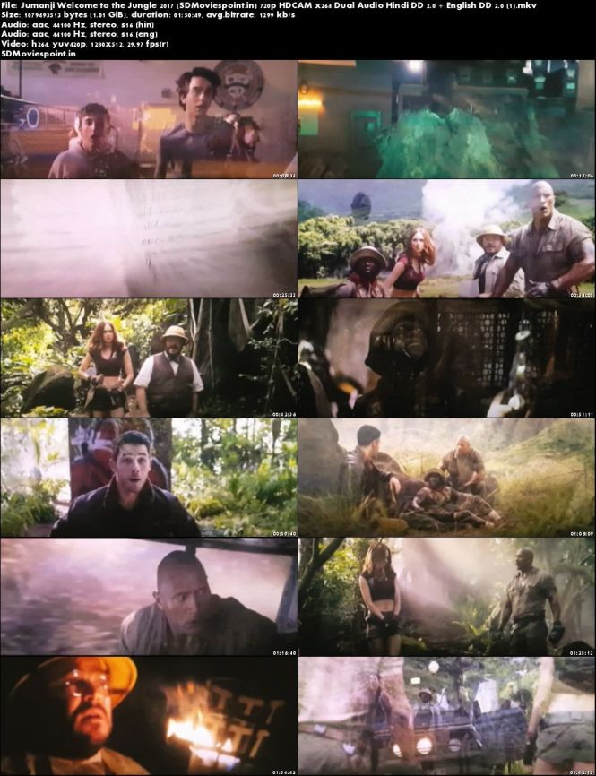 Screen Shots Jumanji: Welcome to the Jungle 2017 Full HD Movie Download Hindi Dubbed Free